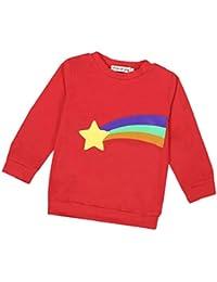 Vovotrade Bébé Garçon Fille Manche longue Arc-en-ciel T-shirt Chemisier