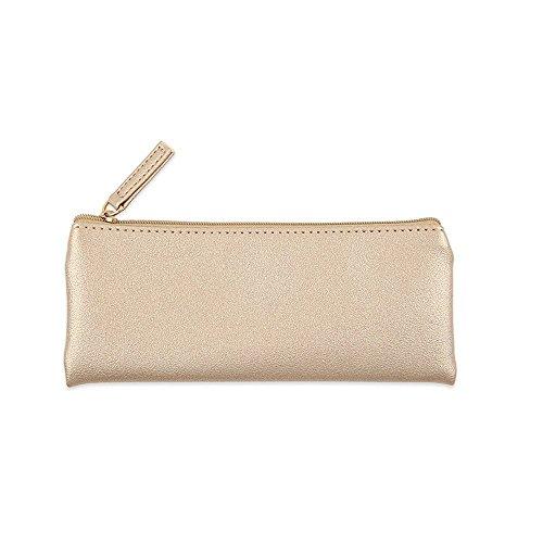 cy3lf PU Leder Mäppchen Tasche Tasche mit Reißverschluss, einfach Bleistift Beutel,...