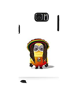 printtech Minions Bob Marley Back Case Cover for Samsung Galaxy Note 5 N920