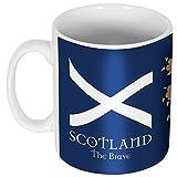 Retake Escocia la Valiente Taza, Unisex, Azul, Talla única