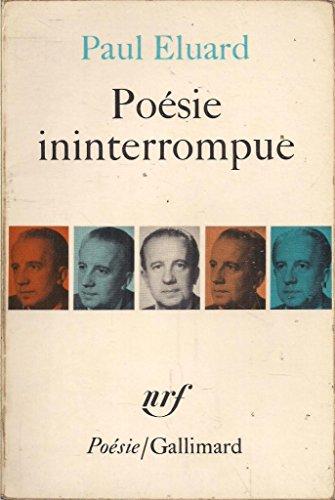 Poesie Ininterrompue [Pdf/ePub] eBook