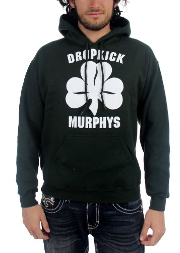 DROPKICK MURPHYS - Dropkick Murphys - Le Shamrock et hommes Rouleau Chandail Black