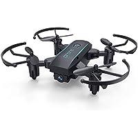 FairytaleMM Plegable Mini Aviones no tripulados con HD 720P Cámara FPV WiFi 2.4G RC Aviones