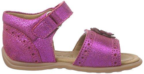 Bisgaard 70231116, Sandales Fille Rose (136 Glitter Pink)
