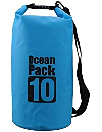 8a0f62d7df PETRICE 10L Waterproof Outdoor Ocean Pack Swimming Dry Bag for  Travelling