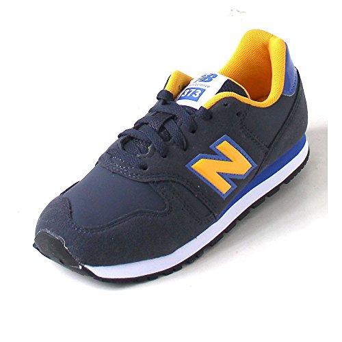 New Balance - Kj373, Sneaker Unisex – Bambini Blu Scuro/Giallo