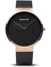 BERING Classic Analog Black Dial Men's Watch-14539-166
