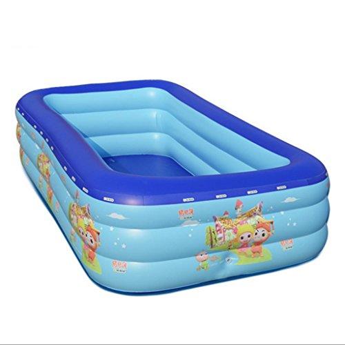 Mustbe strong Baby Kind Aufblasbare Pool Aufblasbare Familie Pool Familie Wasser Ball Pool Ultra Große Erwachsene Verdickt , 120*80*55for Outdoor