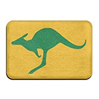Bai Qian Australia Kangaroo Welcome Door Mat Entrance Mat Floor Mat Rug Indoor/Outdoor/Front Door/Bathroom/Kitchen Mats Rubber Super Absorbent Non Slip 40x60 CM