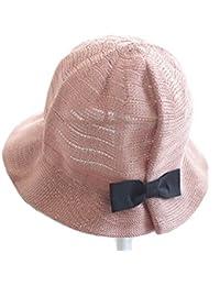 Fletion bambini cappello di paglia protezione UV cappello estivo floscio  cappello da sole cappello dei bambini d3f6c926c110