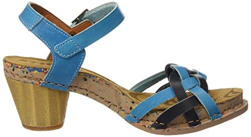 ART 1110 Mojave i Laugh, Sandali con Cinturino alla Caviglia Donna Multicolore (Multi Albufera)