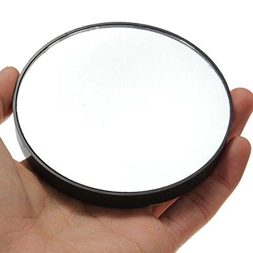 Bluelover 10 X Agrandir Miroir Maquillage Grossissant Porter Des Ventouses Cosmétiques Compact