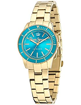 Pepe Jeans Damen-Armbanduhr CHARLIE Analog Quarz Leder R2351105003