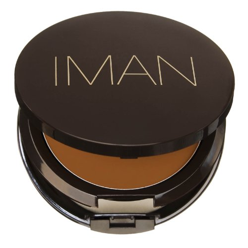 IMAN Cream To Powder Foundation Earth 1 (Cream Foundation Powder Iman)