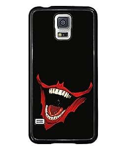 PrintVisa Designer Back Case Cover for Samsung Galaxy S5 Mini :: Samsung Galaxy S5 Mini Duos :: Samsung Galaxy S5 Mini Duos G80 0H/Ds :: Samsung Galaxy S5 Mini G800F G800A G800Hq G800H G800M G800R4 G800Y (Cool Design Of The Laughing Devil)