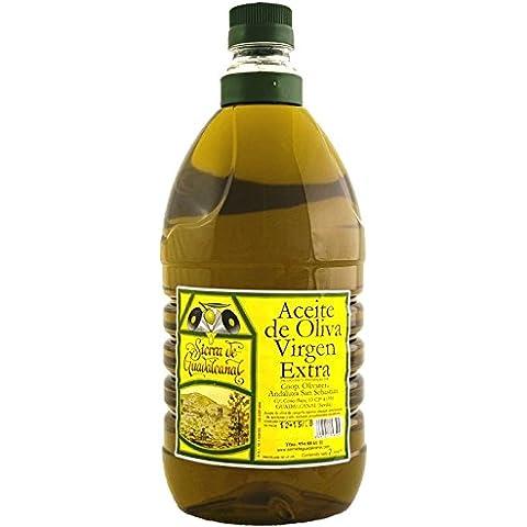 Aceite de Oliva Virgen Extra. Sierra de Guadalcanal 2016. Garrafa. PET. Transparente. 2 LITROS