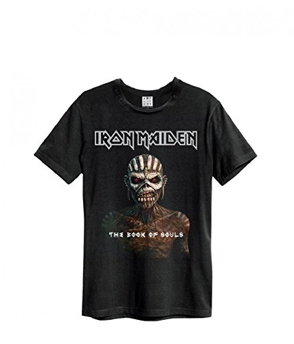 Amplified Iron Maiden Book of Souls T-Shirt, Größe:XXL;Farbe:black - Weg Wallpaper