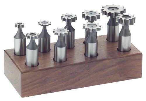 steelex M1082Woodruff keyseat Set, 9-tlg.