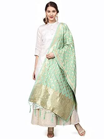 Sutram Women's Banarasi Silk Dupatta