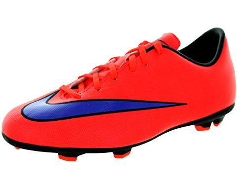 Nike Jr Mercurial Victory V Fg Unisex-Kinder Fußballschuhe Rot