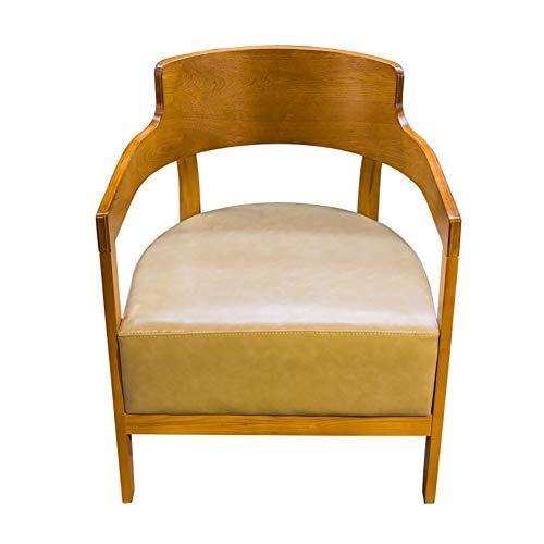 TYUIO Modernes Wohnzimmer Esszimmer Accent Arm Chairs Club Guest mit Massivholzbeinen (Color : D) -