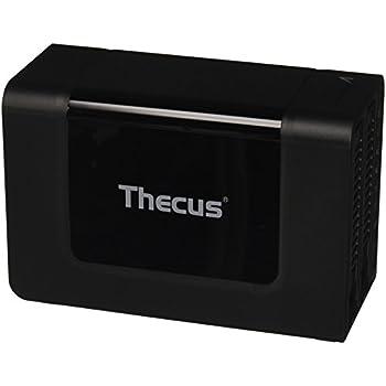 Thecus N2310 serveur NAS (Intel Atom CE5315 SoC, la mémoire dual-core, cadencé à 1,2 GHz, 2 Go de DDR3, 4x SATA, RAID 0/1/5/6/10 / JBOD, 1x USB 3.0)