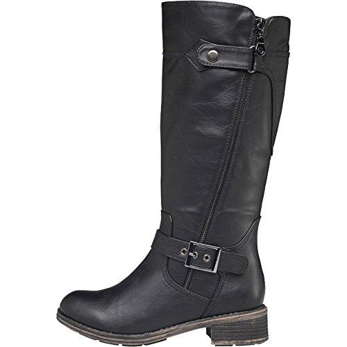 womens-lotus-kiln-boots-black-girls-ladies-6-uk-6-eur-39