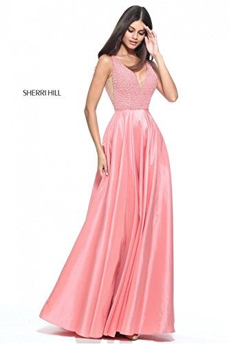 sherri-hill-coral-51182-beaded-bodice-prom-dress-uk-14-us-10