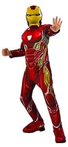 Avengers - Disfraz oficial de Iron Man Deluxe para niños, Infinity War, 3-4 años (641056-S)
