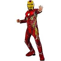Rubies s oficial Avengers infinity Guerra Iron Man, disfraz Deluxe para niño