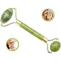 ZZuffig Rodillo Jade Anti-envejecimiento de 100% Rodillos de Jade Natural Sobre el Massager Healing Cara de Adelgazamiento (Rodillo de Jade), la natación y el Cuerpo