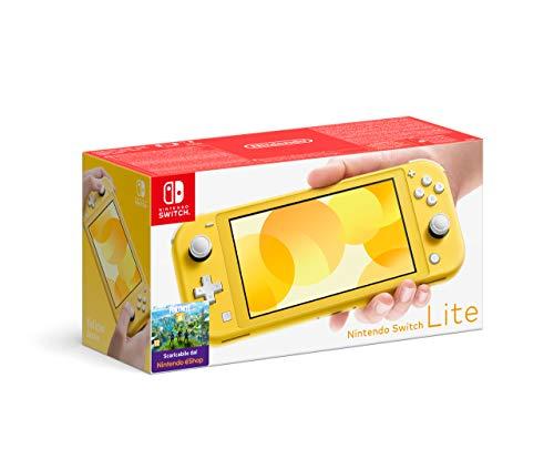 Nintendo Switch Lite, Giallo