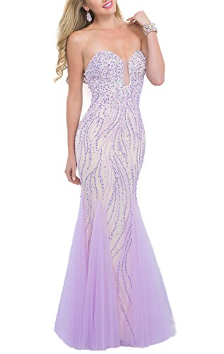 Bridal_Mall - Robe de mariage - Trapèze - Femme Violet