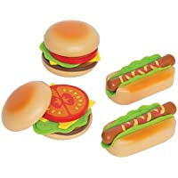 Hape HAP-E3112 Hamburgers and Hotdogs