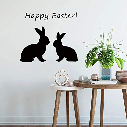 Wall Stickers Wall Decals Abnehmbare Peel And Stick Pvc Wandaufkleber Easter Bunny Art Murals