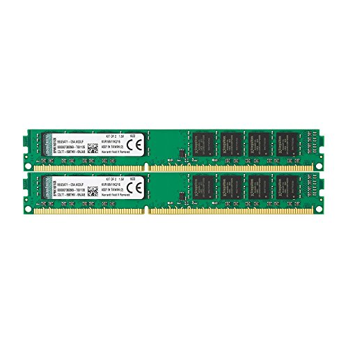 Kingston KVR16N11K2/16 Arbeitsspeicher 16GB (DDR3 Non-ECC CL11 DIMM Kit, 240-pin, 1,5V)