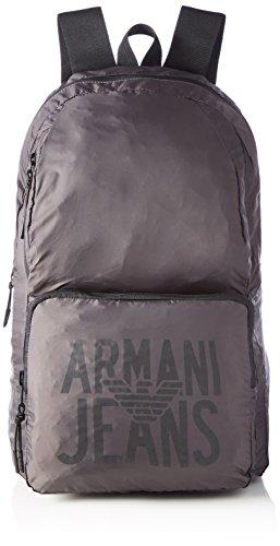 Armani Jeans Zaino - Zaini Uomo, Grau (Frost Grey), 48x15x29 cm (B x H T)