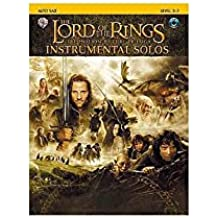 Lord Of The Rings: Instrumental Solos - Alto Sax (Book And CD). Partitions, CD pour Saxophone Alto