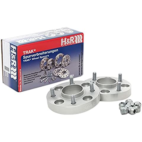 H & R HS 5065595 drm-system Wheel Spacer Set, 50 mm per asse
