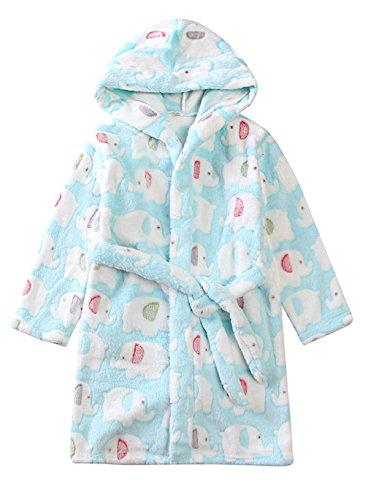 Aivtalk - Bebés Niños Niñas Albornoz de Baño Pijama Super Suave de...