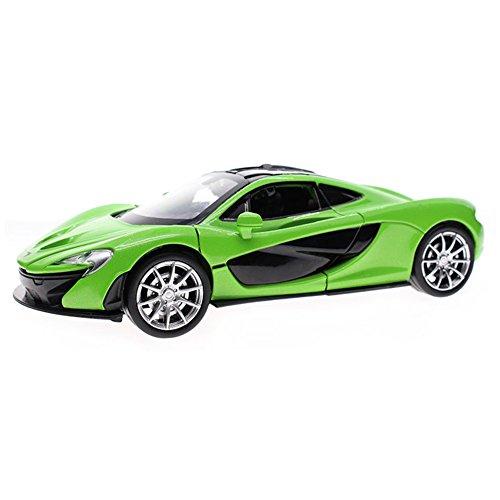 Meilleur cadeau pour les enfants Acousto-Optic voiture alliée modèle 1/32 (Vert)