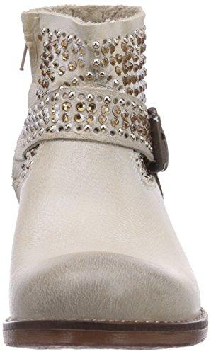 CAFèNOIR Boots Damen Kurzschaft Stiefel Beige (365 CREMA)