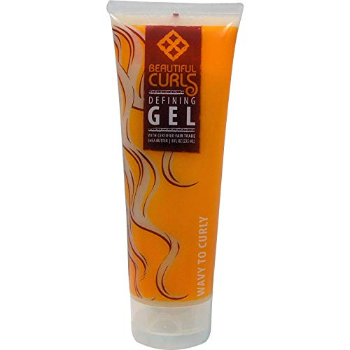 Beautiful Curls, Shea Butter Curl Defining Gel, Wavy to Curly, 8 fl oz (235 ml)