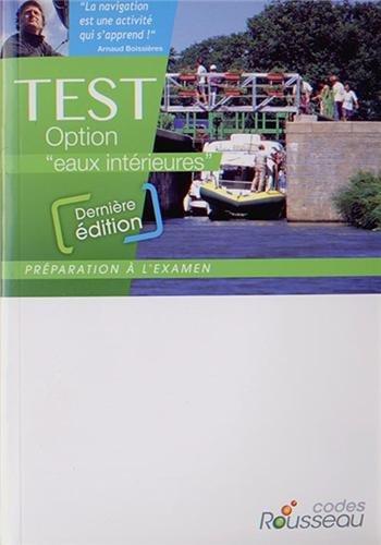 CODE ROUSSEAU TEST EAUX INTERIEURES 2014