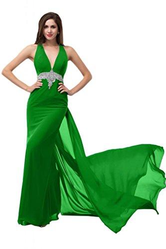 Sunvary-Cuori in cristallo, stile formale vestiti da sera Gowns sera Blue