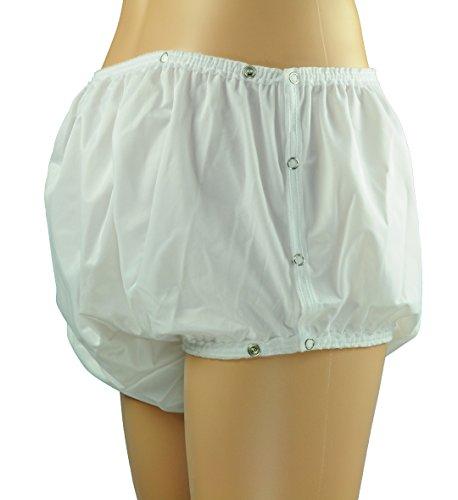 ObboMed® MT-3313 / MT-3303N wiederverwendbare Unterhose, wasserdicht Druckknopfverschluss Inkontinenz Schutzhose, (MT-3313: XL: 116.8 x 132 cm) kann mit Windel für Erwachsene genutzt werden, waschbarer Slip