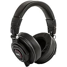Cuffie copriorecchio LyxPro HAS-30 Professionali da Studio, con cavo staccabile, per la registrazione,il mixaggio, per i DJ e per l'ascolto di musica