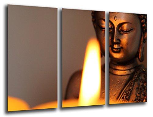 Cuadro Moderno fotografico base madera, 97 x 62 cm, Buda Buddha, Relajacion, Relax, Zen ref. 26204 3