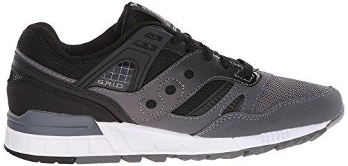 Saucony Herren Grid Sd Sneakers Nero (Black/Grey)