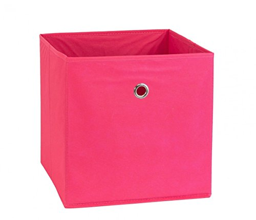 links-99200220-regalbox-regalkorb-aufbewahrungsbox-schrankbox-box-wurfel-faltbar-regal-rosa-neu